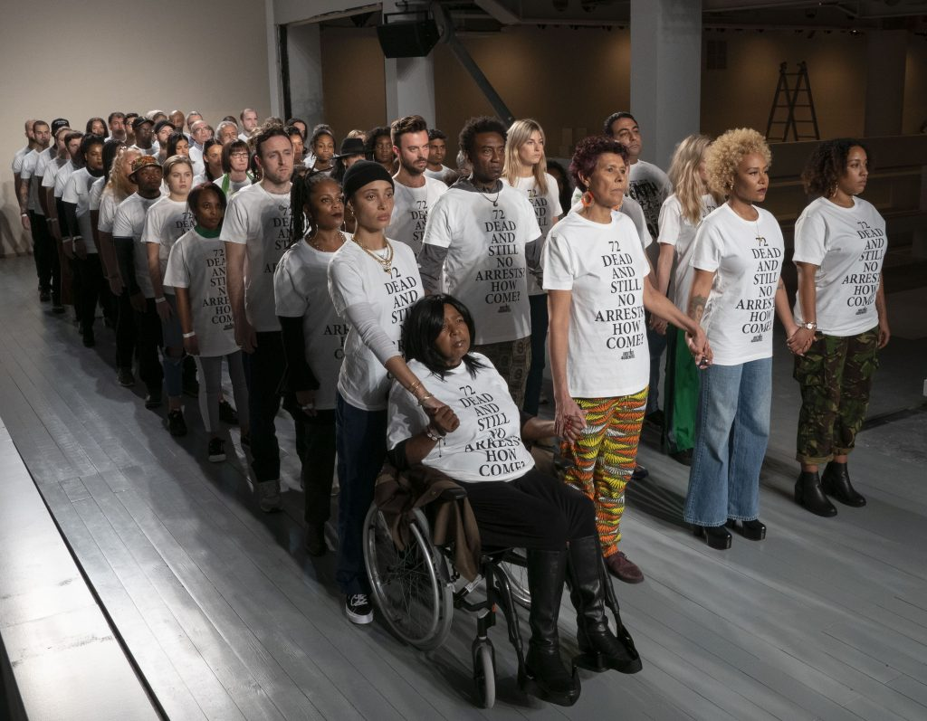 af50fe2c6192 Justice4Grenfell takes a stand at London Fashion Week – Justice4Grenfell